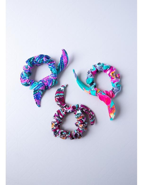 Scrunchies Colors Tripack 4