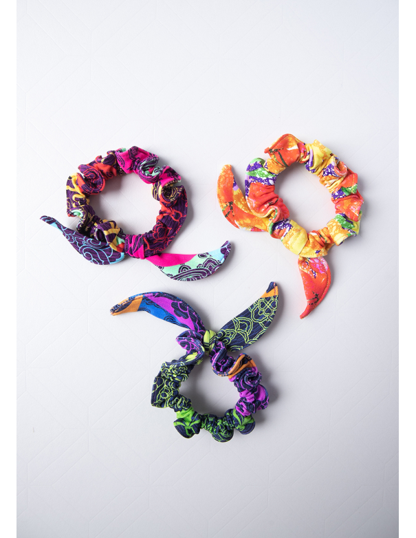 Scrunchies Colors Tripack 10