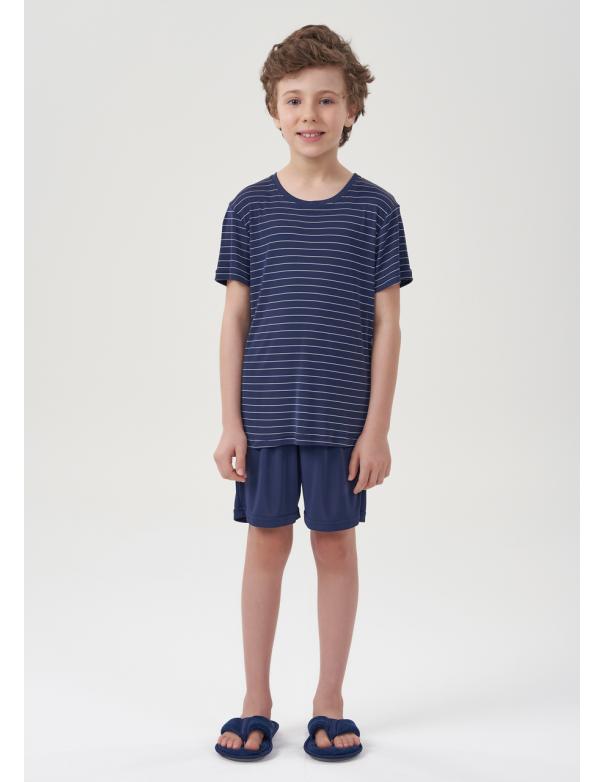 Pijama Manga Corta Niño 66374