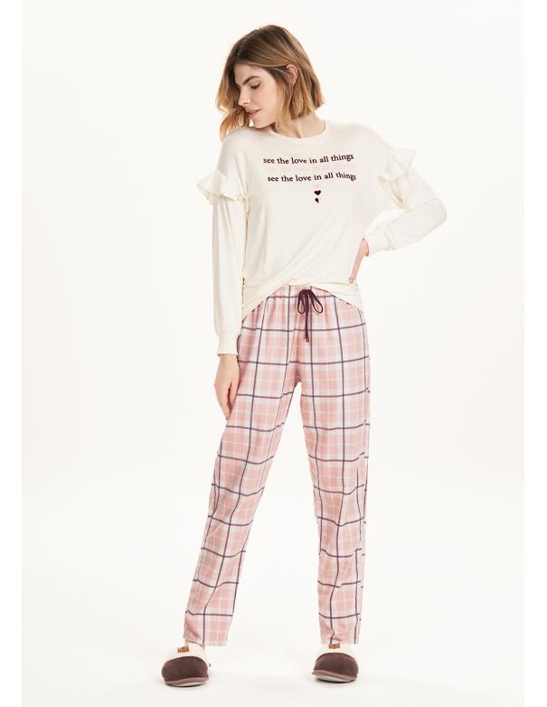 Pijama de Manga Larga 12643