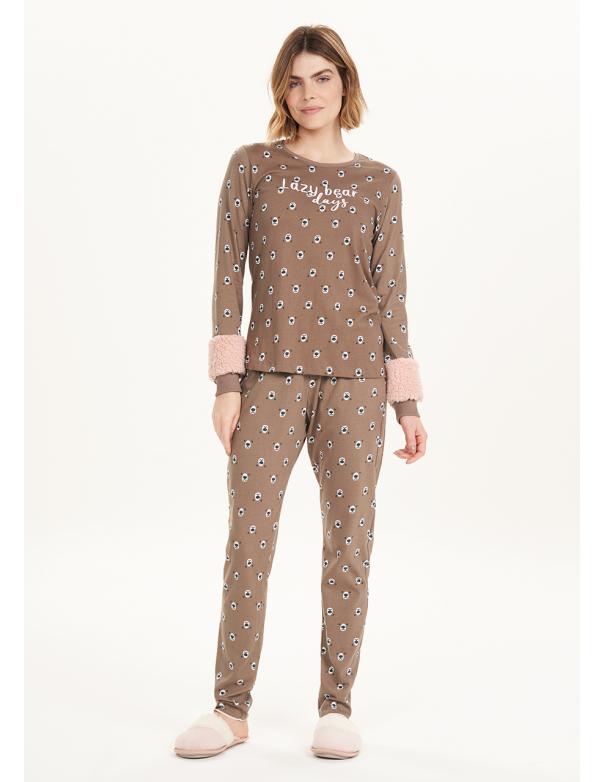 Pijama de Manga Larga 12561