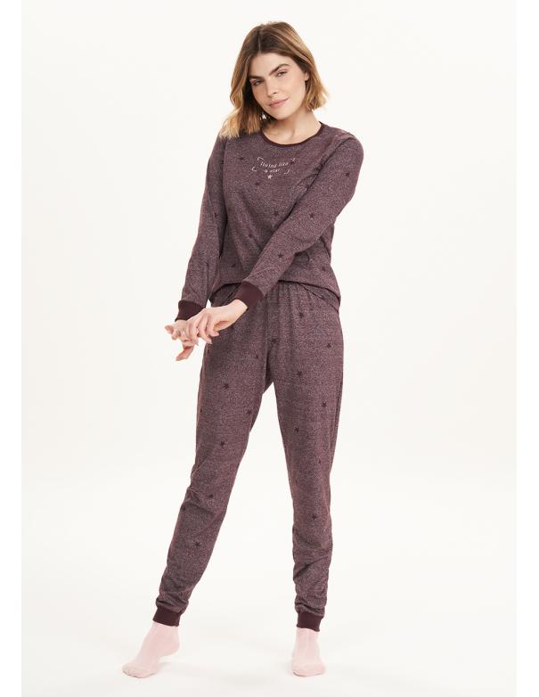 Pijama de Manga Larga 12581