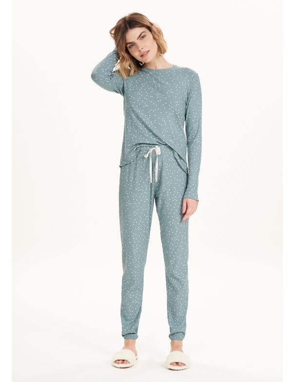 Pijama Manga Larga 12684