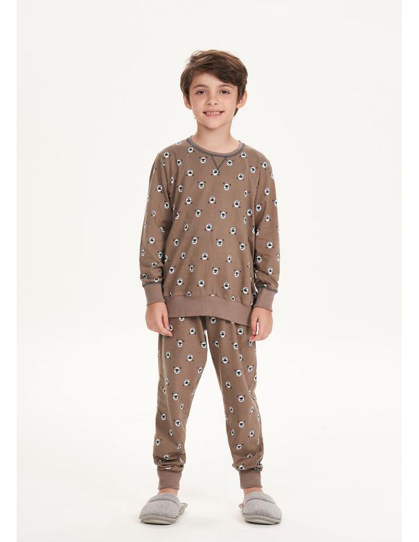 Pijama Manga Larga Infantil 66381